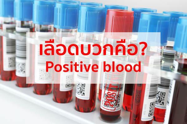 เลือดบวกคือ อะไร   สาระน่ารู้เกี่ยวกับเอชไอวี